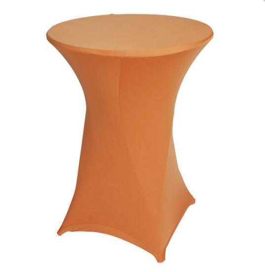 Statafel stretchhoes - oranje